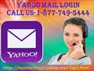 All yahoo mail login issues solved at 1-877-749-54