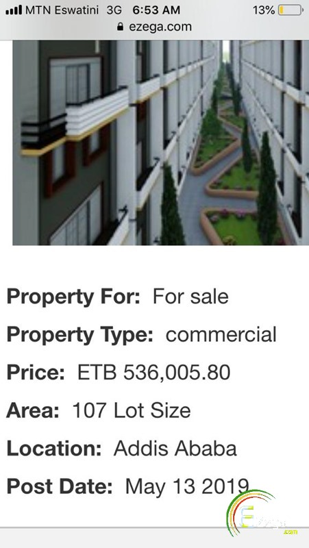 Apartment for sell - Addis Ababa CMC | Ezega