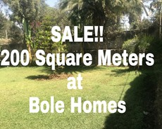 Sale!! Key Residential Plot At Bole Homes