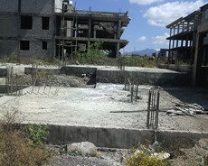 94 sq.m land,foundation complete (for G+3) Akaki