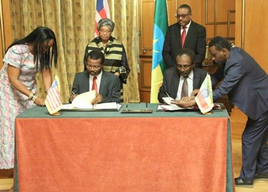 Ethiopia-Liberia-sign-agreements