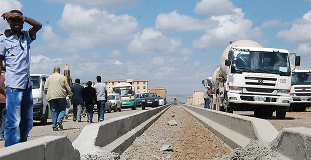 Highway Construction Materials : Illegally dumped road construction materials threat the