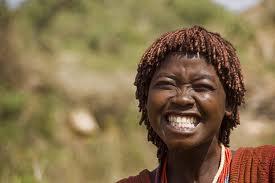 Smiling Ethiopian