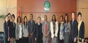 Intercountry adoption - Ethiopian delegation to China